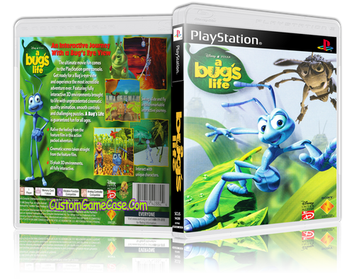 A Bugs Life - Sony PlayStation 1 PSX PS1 - Empty Custom Case