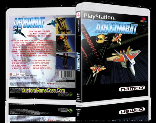 Air Combat - Sony PlayStation 1 PSX PS1 - Empty Custom Case