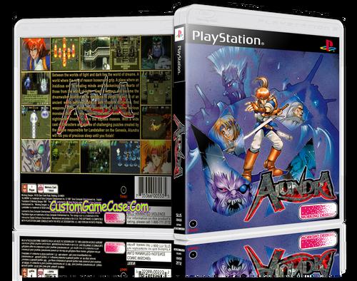 Alundra - Sony PlayStation 1 PSX PS1 - Empty Custom Case