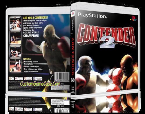 Contender 2 - Sony PlayStation 1 PSX PS1 - Empty Custom Case