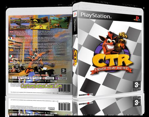 Crash Bandicoot Team Racing - Sony PlayStation 1 PSX PS1