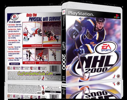 NHL 00 - Sony PlayStation 1 PSX PS1 - Empty Custom Case