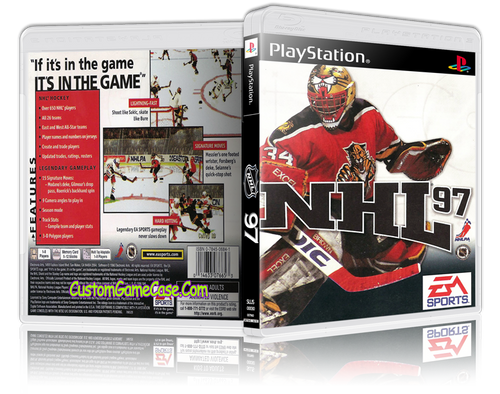 NHL 97 - Sony PlayStation 1 PSX PS1 - Empty Custom Case