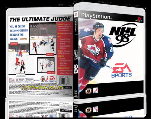 NHL 98 - Sony PlayStation 1 PSX PS1 - Empty Custom Case