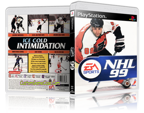 NHL 99 - Sony PlayStation 1 PSX PS1 - Empty Custom Case