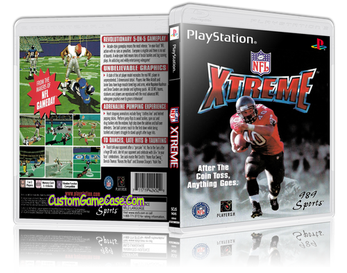 NFL Xtreme - Sony PlayStation 1 PSX PS1 - Empty Custom Case