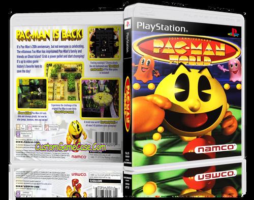 Pac-Man World - Sony PlayStation 1 PSX PS1 - Empty Custom Case