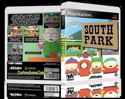 South Park - Sony PlayStation 1 PSX PS1 - Empty Custom Case