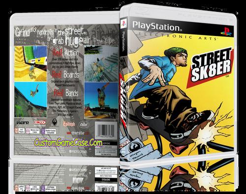 Street Sk8er - Sony PlayStation 1 PSX PS1 - Empty Custom Case