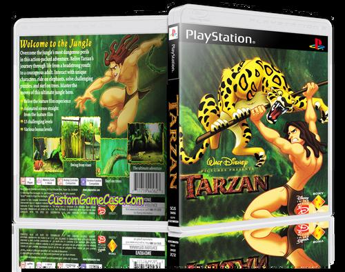 Tarzan - Sony PlayStation 1 PSX PS1 - Empty Custom Case