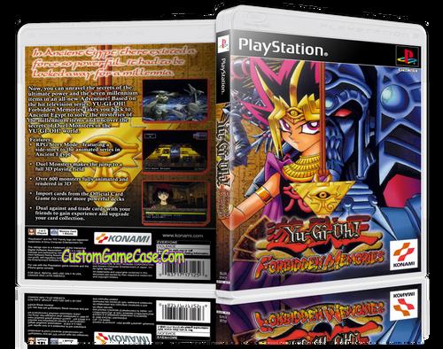 Yu-Gi-OH! Forbidden Memories - Sony PlayStation 1 PSX PS1 - Empty Custom Case