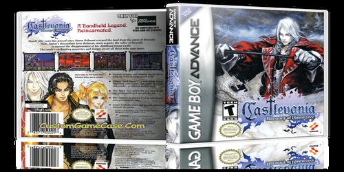 Castlevania Harmony of Dissonance - Gameboy Advance GBA - Empty Custom Replacement Case