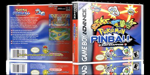 Pokemon Pinball - Gameboy Advance GBA - Empty Custom Replacement Case