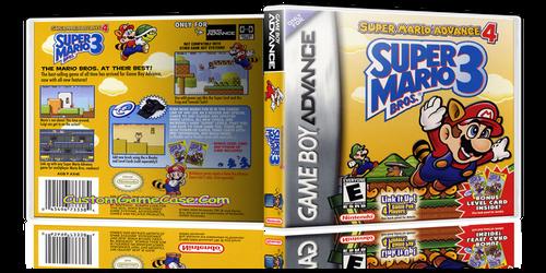 Super Mario Advance 4  - Gameboy Advance GBA - Empty Custom Replacement Case