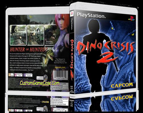 Dino Crisis - Sony PlayStation 1 PSX PS1 - Empty Custom Case
