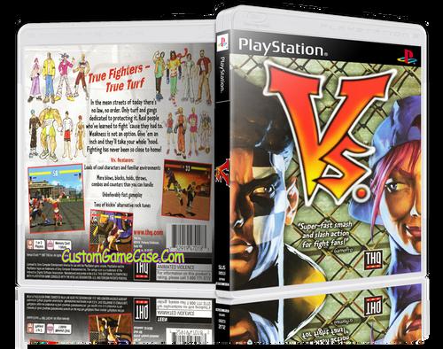 Vs.  - Sony PlayStation 1 PSX PS1 - Empty Custom Case