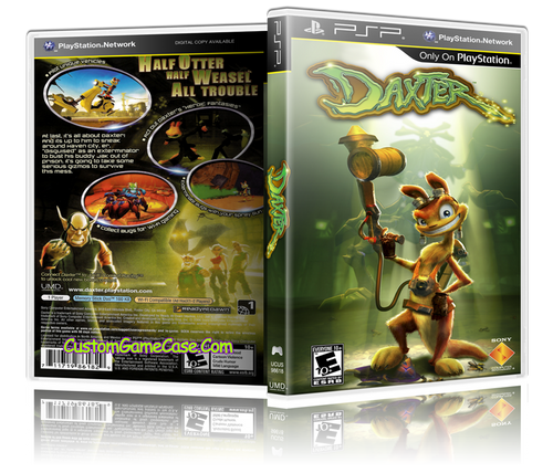 Daxter - Sony PlayStation Portable PSP - Empty Custom Replacement Case