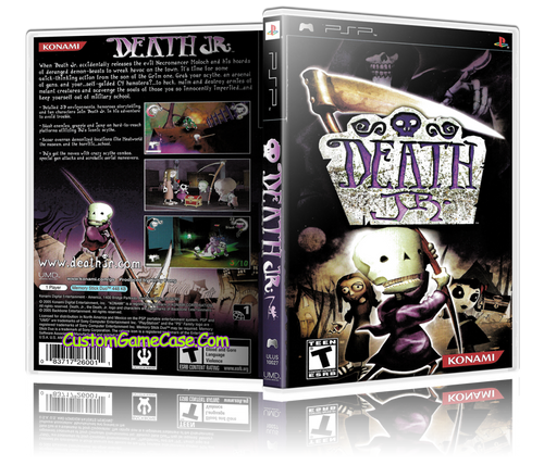 Death Jr. - Sony PlayStation Portable PSP - Empty Custom Replacement Case