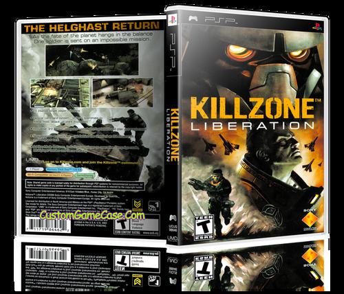 Killzone Liberation - Sony PlayStation Portable PSP - Empty Custom Replacement Case