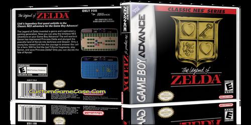 The Legend of Zelda  - Gameboy Advance GBA - Empty Custom Replacement Case
