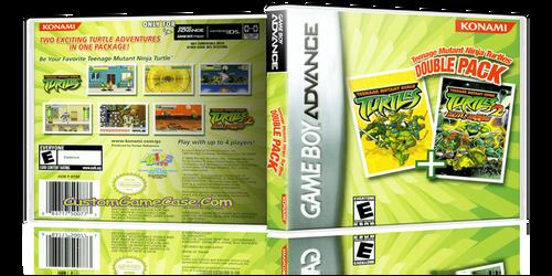 Teenage Mutant Ninja Turtles Double Pack - Gameboy Advance GBA - Empty Custom Replacement Case