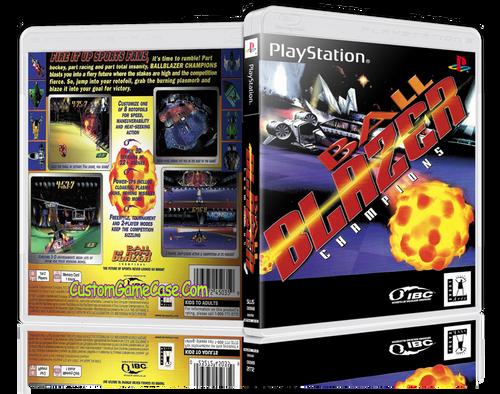 BallBlazer - Sony PlayStation 1 PSX PS1 - Empty Custom Case