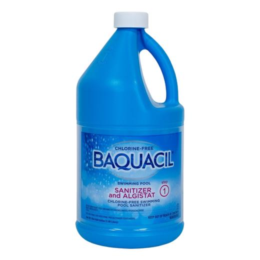 Baquacil Sanitizer Half Gallon Bottle