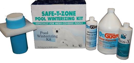 Safe-T-Zone Pool Closing Kit