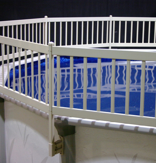 """Vinyl Works Canada 36"""" Resin Premium Pool Fencing Add-On Kit C 2 Sections"""