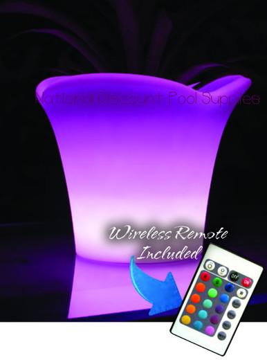LED Light Decor- Planter - The Tahiti