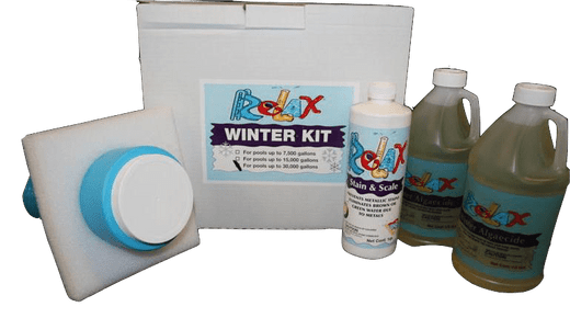 Supreme Pool Closing Kit #3 with Enzyme Floater - Pools up to 30000 gallons