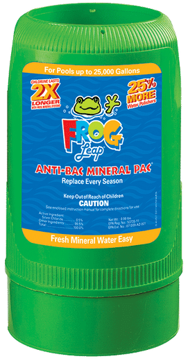 King Technology Pool Frog Leap Mineral Pac 01-12-7822