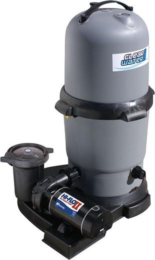 Waterways Clearwater II 150 sq ft Cartridge Filter system w/ 1.5hp 2-speed pump