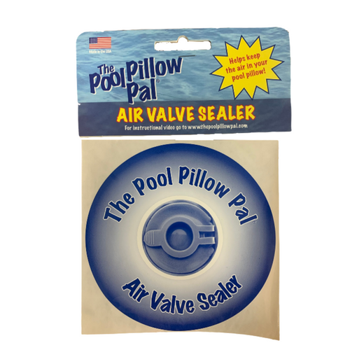 The Air Valve Sealer by The Pool Pillow Pal