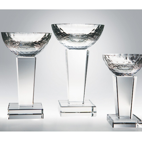 """Glory Trophy 7"""", 3 sizes available, Crystal Award"""