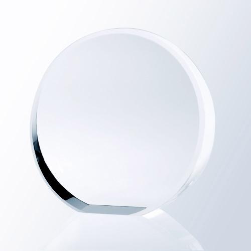 BEVELED CIRCLE AWARD,  3 sizes available