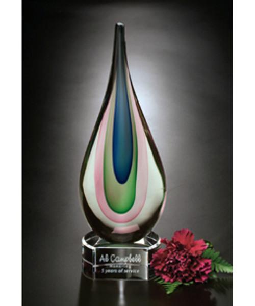 Eminence Hand Blown Glass Award