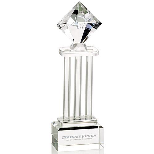 Diamond column Crystal Award
