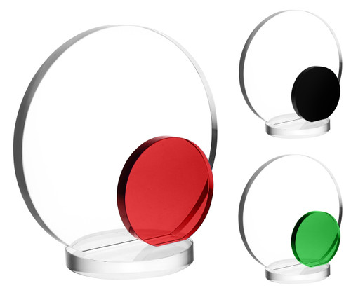 Red, Green or Black Accent