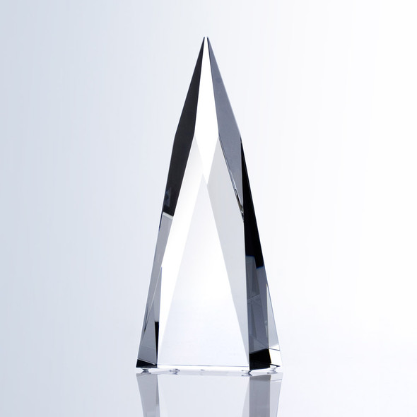 SUPER SPIRE OBELISK CRYSTAL AWARD, 3 sizes available, free engraving
