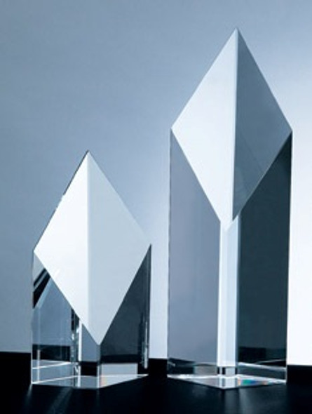 SUPER DIAMOND TOWER CRYSTAL AWARD, 3 sizes available