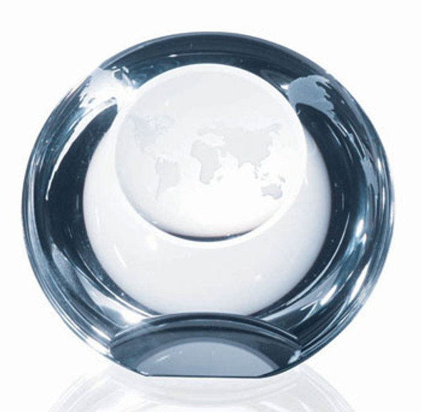 GLOBE DOME PAPERWEIGHT