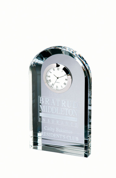 OPTICAL CRYSTAL ROYAL CLOCK ARCH TOWER