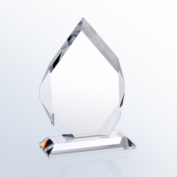 CLASSICAL DIAMOND CRYSTAL AWARD, 3 sizes available
