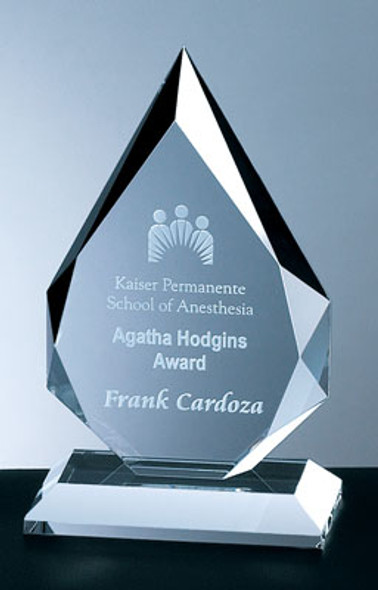 PRESTIGE FLAME CRYSTAL AWARD