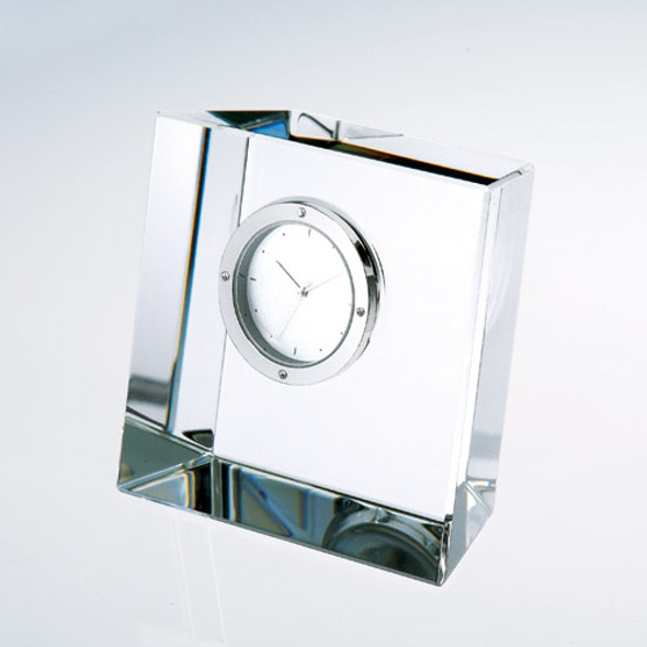 Slant Block Clock