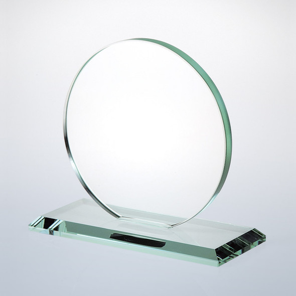 JADE GLASS CIRCLE AWARD, 3 sizes available