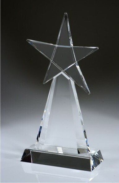 EVOLVING STAR CRYSTAL AWARD