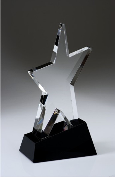 SUPERSTAR CRYSTAL AWARD