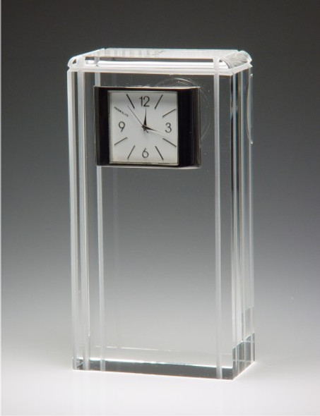 MISSION CRYSTAL CLOCK